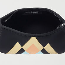 Goddess Beauty Bag - Geometric Black
