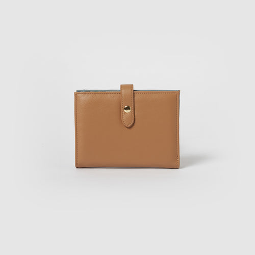 Happiness Wallet - Tan