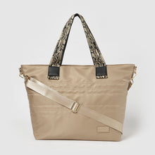 Hear The Music Tote by Urban Originals - Taupe