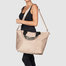Hear The Music Tote - Taupe
