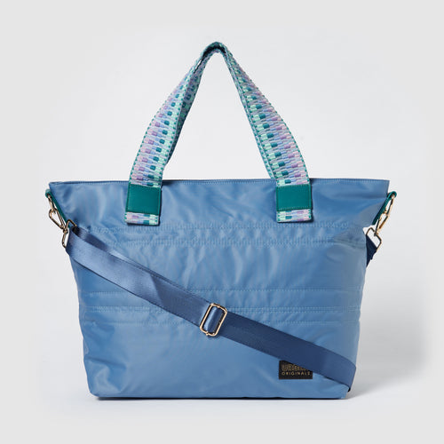 Hear The Music Tote - Blue