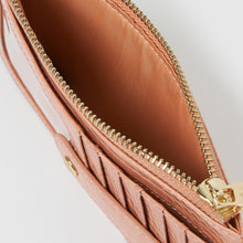 Hold Me Wallet - Pink Crocodile