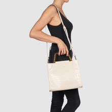 Iconic Love Tote by Urban Originals - Oat Croc