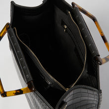 Iconic Love - Black Croc