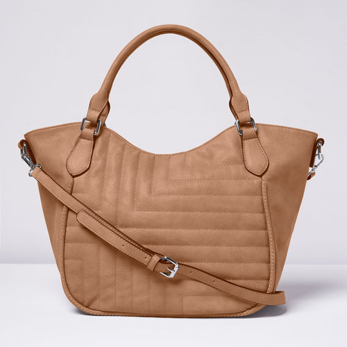 Iconic Tote - Taupe