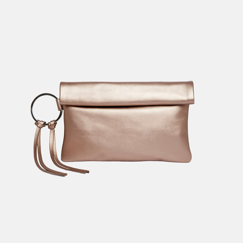Lost Lover Clutch - Metallic