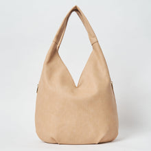 Love Success Vegan Slouch Bag by Urban Originals - Sand