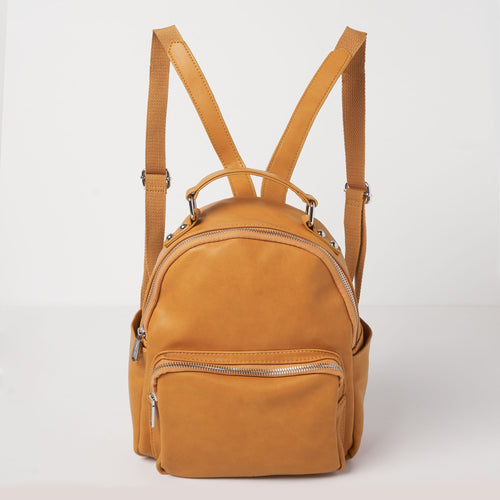 Mini Backpack -  Caramel