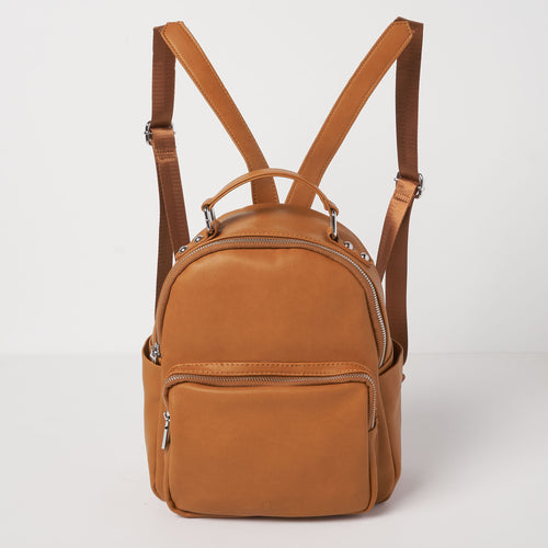 Mini Backpack -  Tan