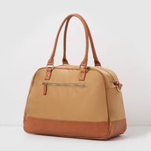 Moon Nylon Overnight Bag - Camel