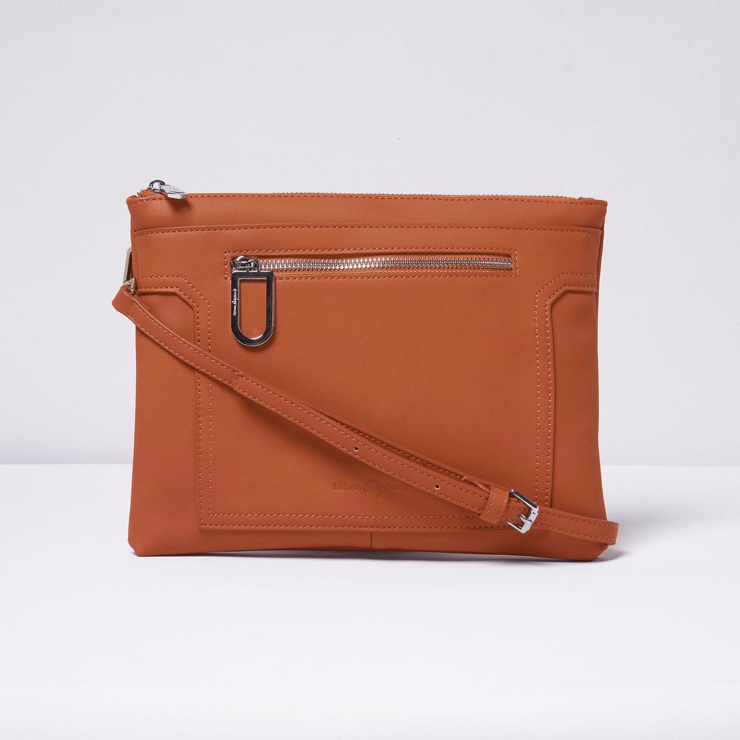 Muse Clutch - Rust - Urban Originals Australia