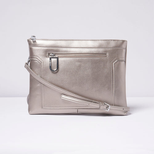 Muse Clutch - Silver