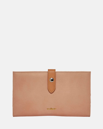 New Shadow Wallet - Pink/Tan - Urban Originals Australia