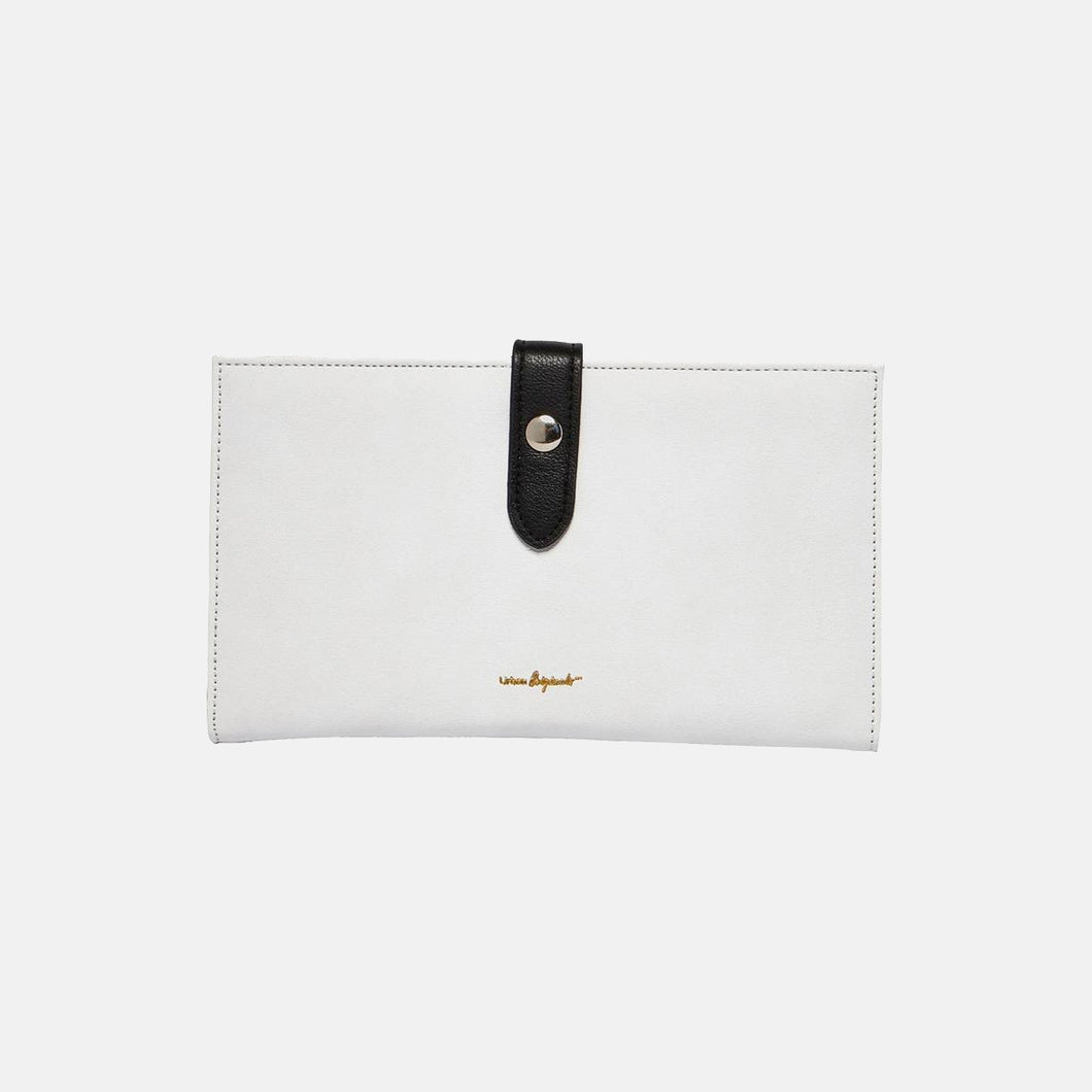 New Shadow Wallet - White/Black - Urban Originals Australia
