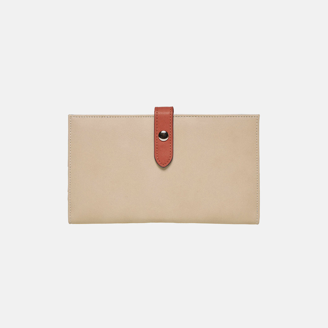 New Shadow Wallet - Beige/Brick - Urban Originals Australia