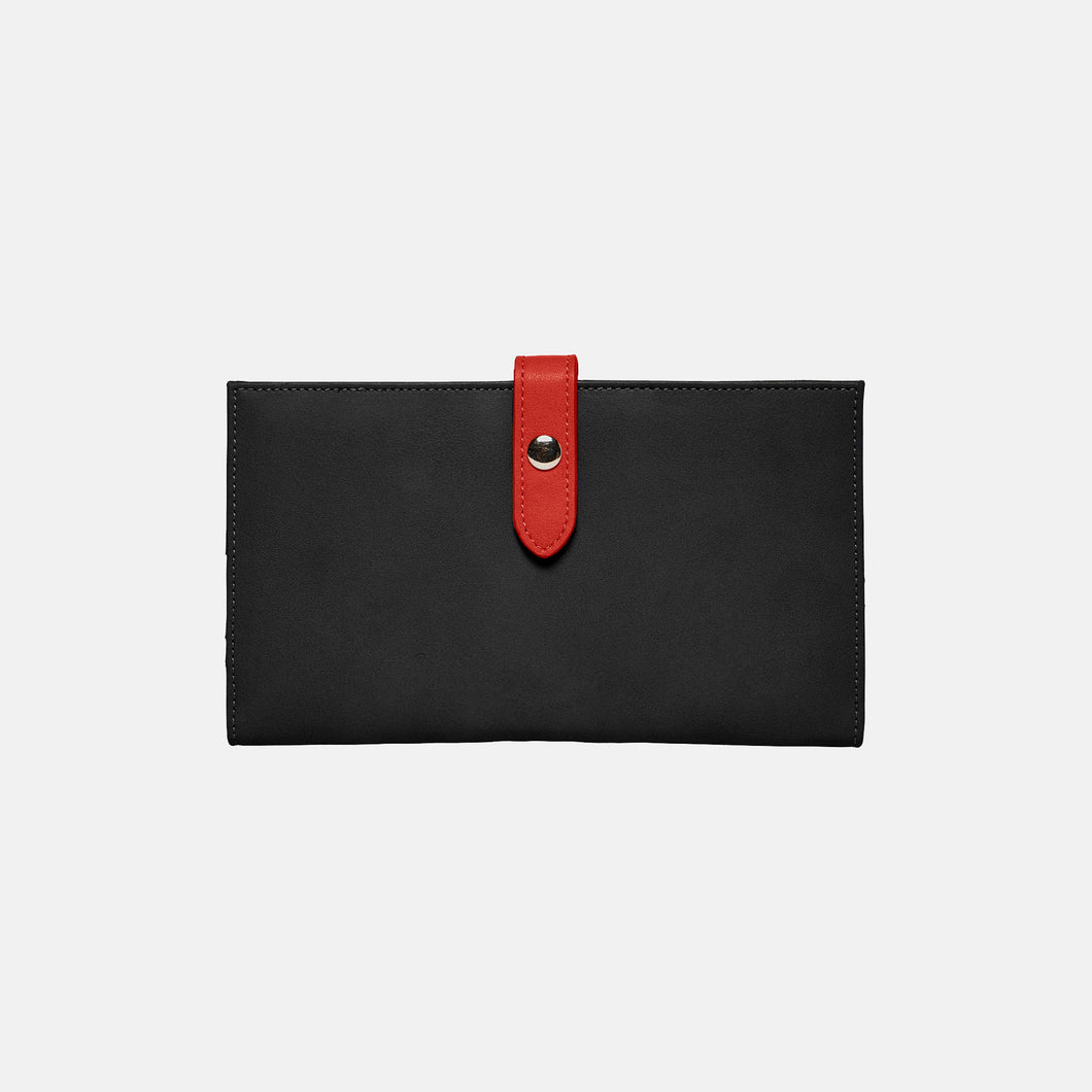New Shadow Wallet - Black/Red - Urban Originals Australia