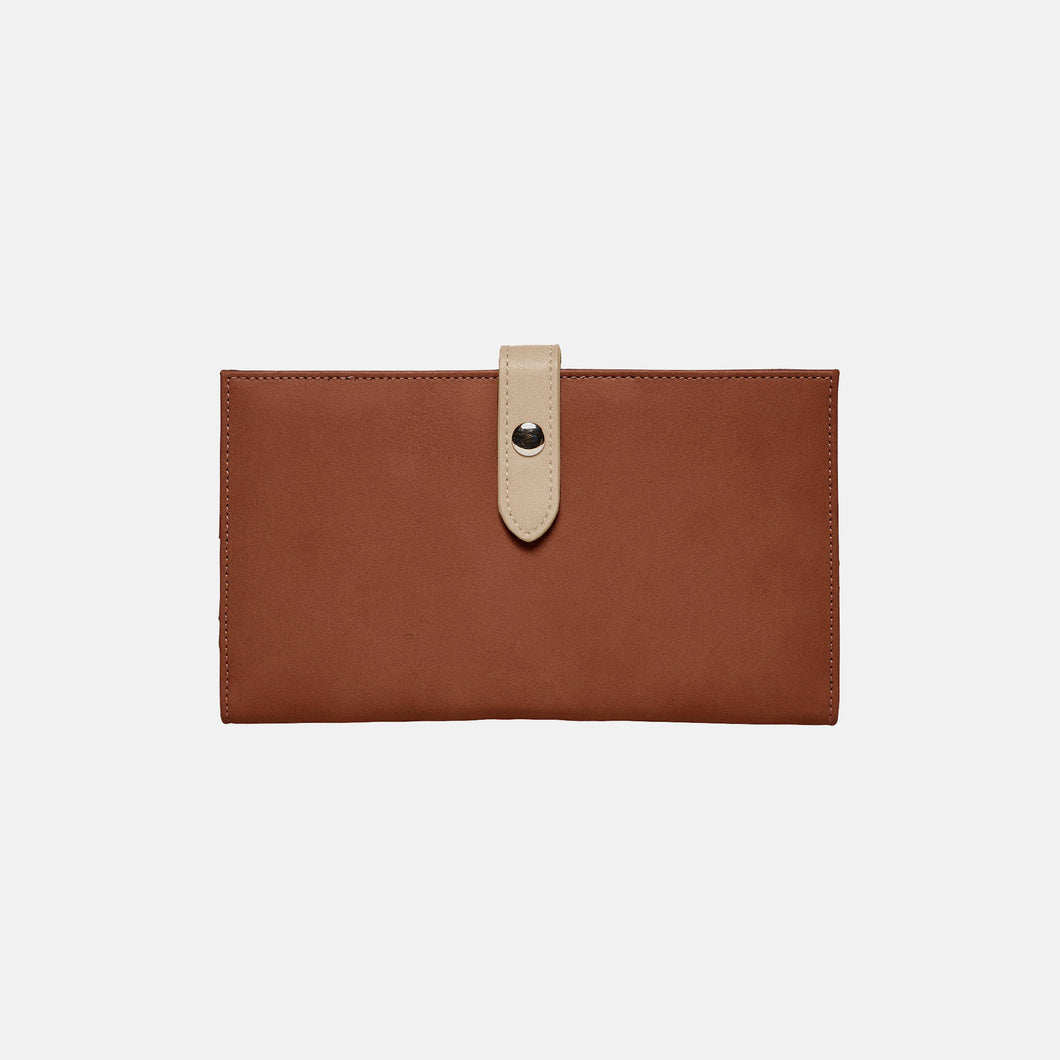 New Shadow Wallet - Brown/Beige - Urban Originals Australia
