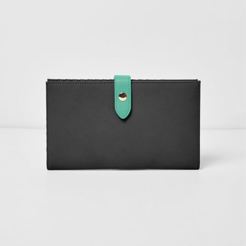 New Shadow Wallet - Black/Green