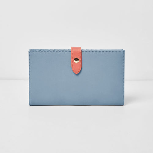 New Shadow Wallet - Blue/Pink