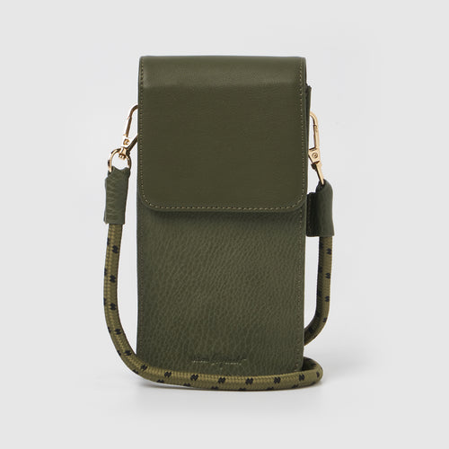 Nova Crossbody Wallet - Green