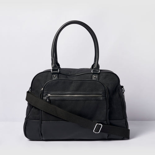 Overnight Bag - Black - Urban Originals Australia