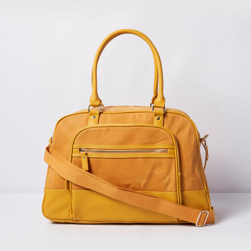 Overnight Bag - Yellow
