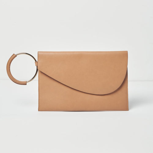 Paris Nights Clutch - Nude