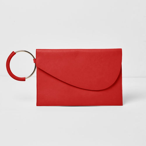 Paris Nights Clutch - Red