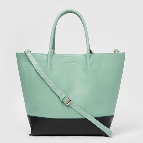 Revenge Vegan Tote by Urban Originals - Green/Black