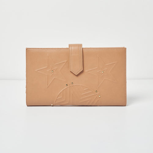 Star Struck Wallet - Nude