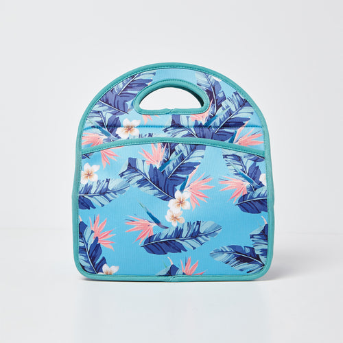 Starlet Lunch Box - Floral Blue