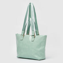 Sunrise Vegan Leather Tote by Urban Originals - Green