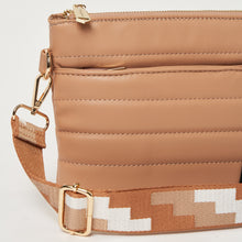 The Lola Crossbody - Taupe/Tan