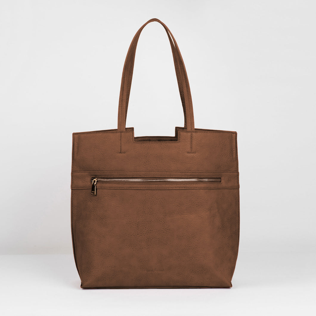 Timeless Tote - Taupe