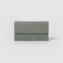Button Up Wallet - Mist