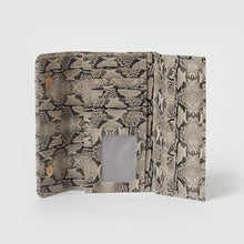 Button Up Wallet - Snake