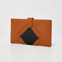Ventura Wallet - Tan/Black