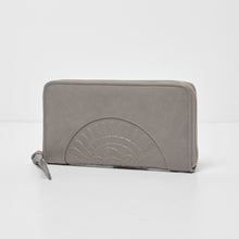 Wild Rose Wallet - Grey