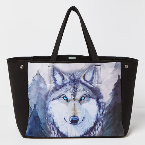 Into The Wild Carry All - Wolf - Urban Originals Australia