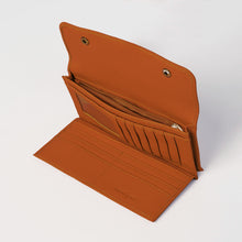 Button Up Vegan Wallet by Urban Originals - Tan