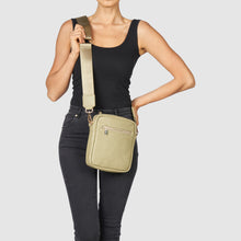 Catch Up Vegan Crossbody Bag - Light Green
