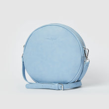 Cherry Love Vegan Crossbody Bag - Blue