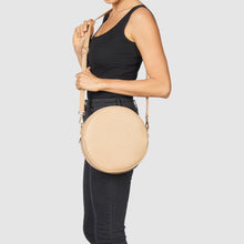 Cherry Love Vegan Crossbody Bag - Sand