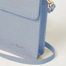 Crocodile Phone Wallet - Blue