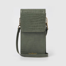 Crocodile Phone Wallet - Green