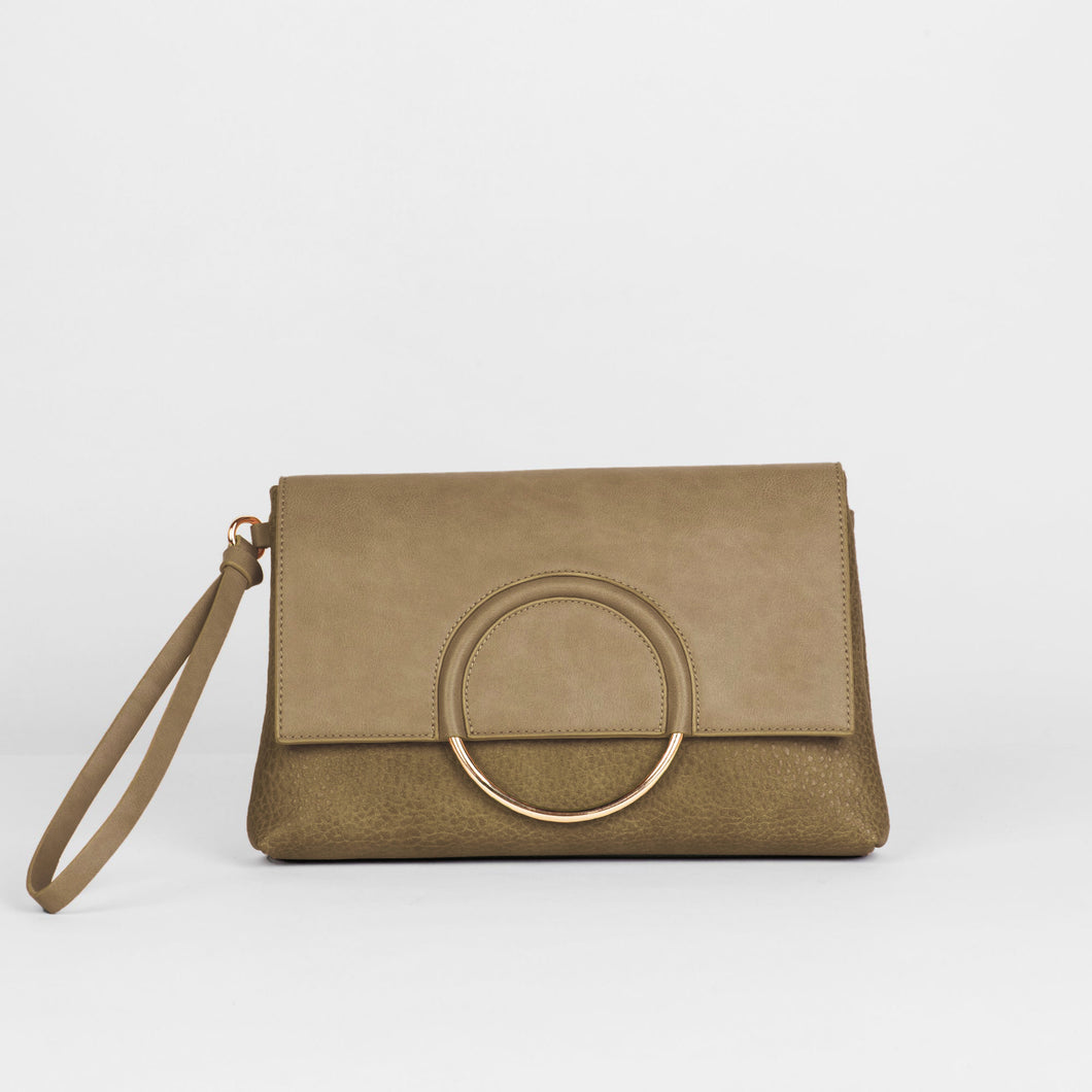 Custom Clutch - Khaki - Urban Originals USA