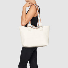 Dragonfly Floral Tote by Urban Originals - Cream