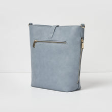 Earthling Crossbody Vegan Leather Bag - Blue