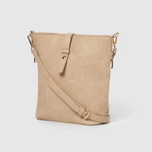 Earthling Crossbody Vegan Leather Bag - Taupe