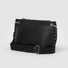 Eternal Vegan Leather Crossbody Bag - Black